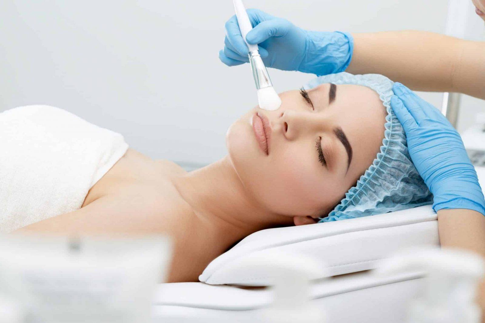 chemical Skin peels london omniya clinic